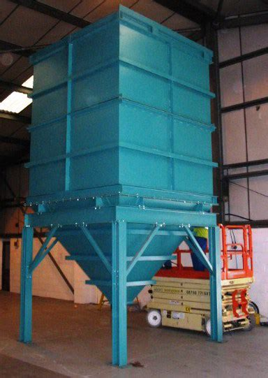 new design criteria for hoppers and bins ljf engineering manufacture hoppers bins silos