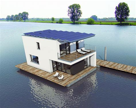 living in a house boat solar powered autarkhome house boat brings passivhaus