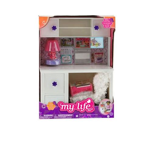 my life doll desk my life as desk chair 18 inch walmart ca