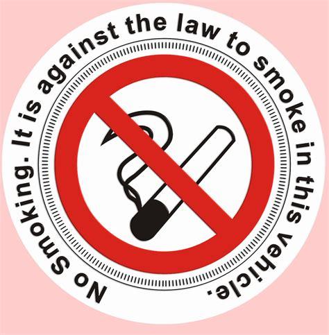no smoking sign for car no smoking tax disc holder window sticker
