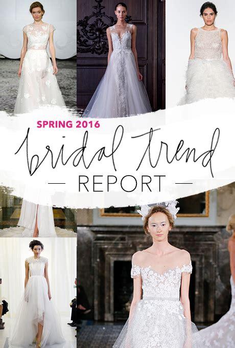 Wedding 2016 Trends by 2016 Wedding Dress Trends Brides