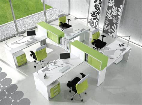 workstation table design table system for field office in a modern style idfdesign