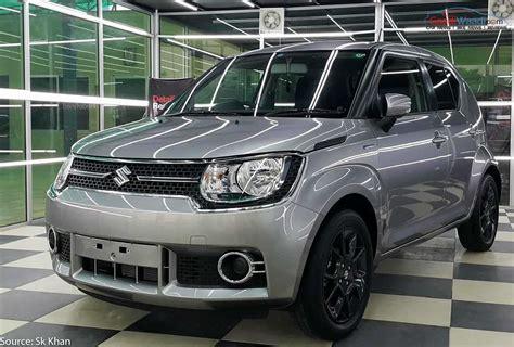 Suzuki India Exclusive Pics Maruti Suzuki Ignis Photo Gallery
