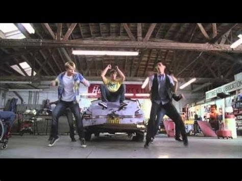 Grease Lighting Song by Glee Greased Lighting Performance Official