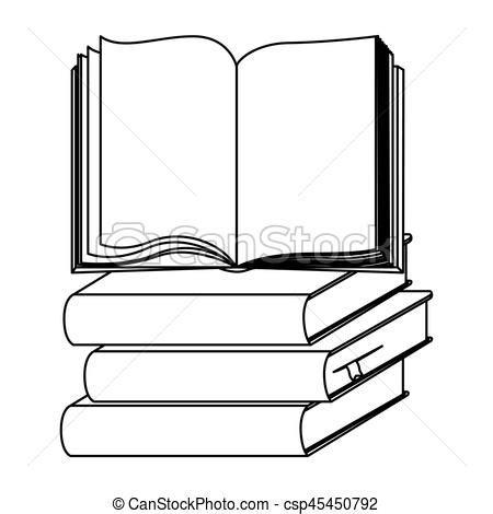 mont 243 n de libros de dibujos animados ilustraci 243 n vector dibujos de conjuntos de libros abiertos escuela conjunto