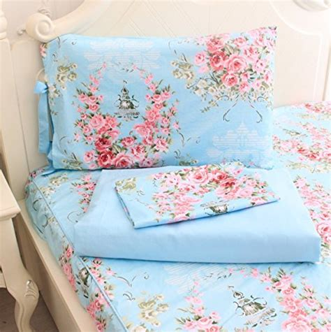 Floral Print Bed Sheet free shipping fadfay bed sheets pink floral print