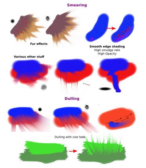 tutorial smudge brush color smudge krita documentation