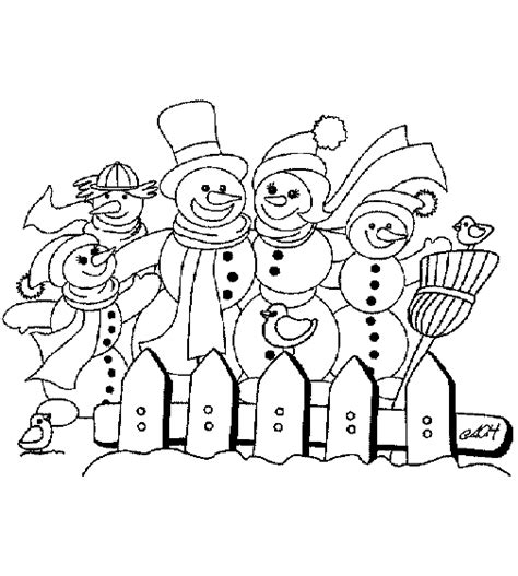 coloring page snowman family christmas snowman coloring pages coloringpages1001 com