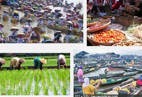 Masyarakat Indonesia ilmu pengetahuan sosial smp kegiatan ekonomi masyarakat