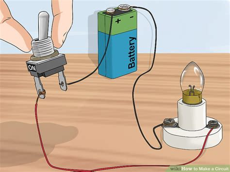 how to make a electric circuit with switch 3 ways to make a circuit wikihow