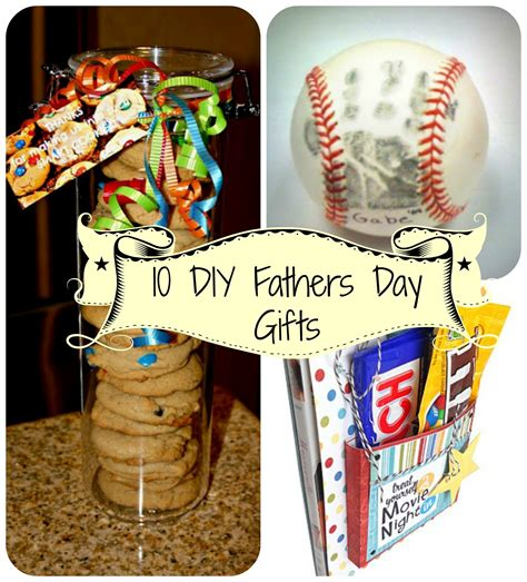 gifts for fathers day 10 easy diy fathers day gifts marandagarcia
