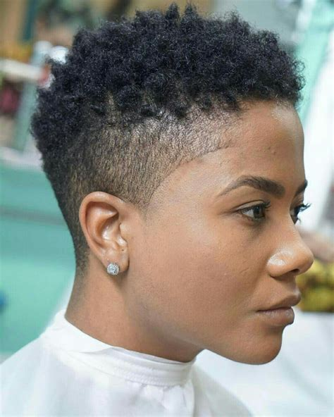 first time womens fade haircut perfect natural make up short hairstyles pinterest