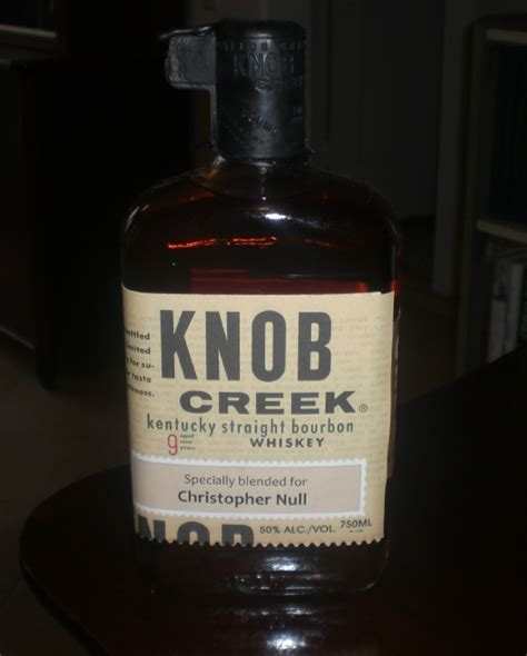 Knob Creek Reviews review knob creek bourbon drinkhacker