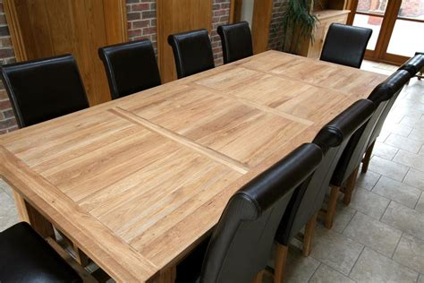 Oak Dining Tables Uk Refectory Tables Refectory Oak Dining Table Large Dining Tables
