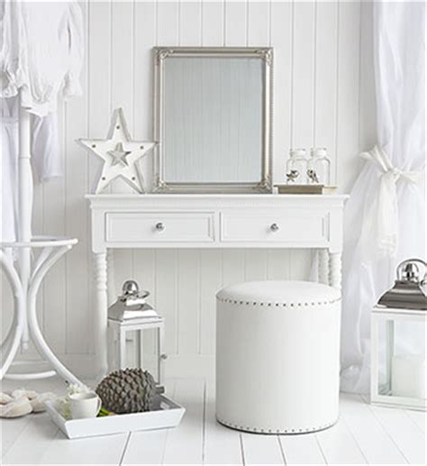 schlafzimmer corner desk new white dressing table with drawers and silver