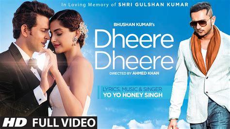 download mp3 from kattappanayile hrithik roshan dheere dheere se meri zindagi video song official