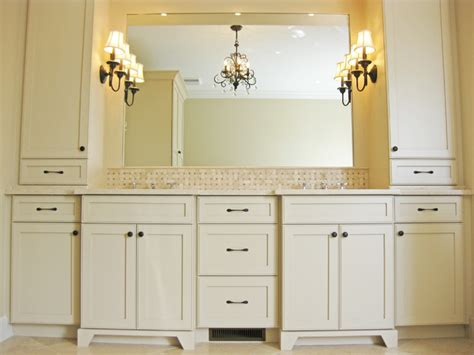 Bathroom Vanity Towers Master Bathroom Vanity With Towers Traditional Charleston By Sea Island Builders Llc