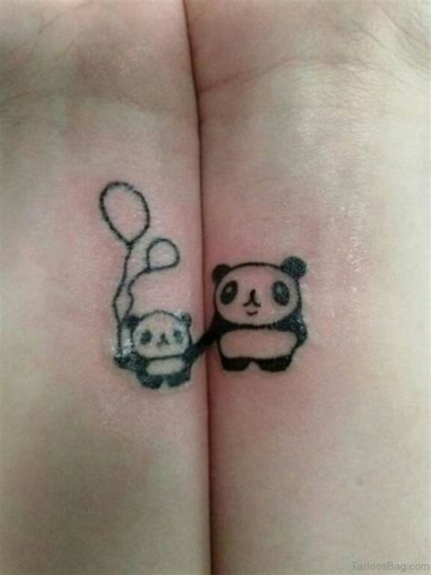 panda tattoo 9 charming panda wrist tattoos