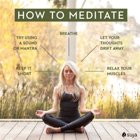 how to how to meditate suja juice