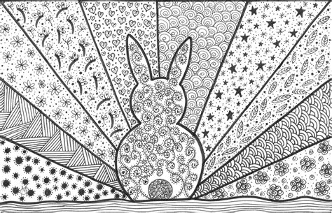 crazy geometric coloring pages free hard crazy coloring pages