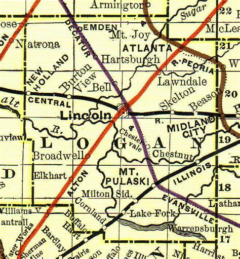 Logan County Property Records Logan County Illinois Genealogy Vital Records