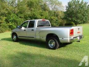 2006 dodge big horn 3500 dually for sale in macon