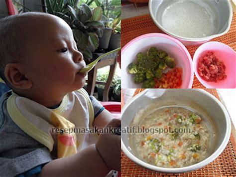 cara membuat nasi tim saring bayi resep bubur daging sapi brokoli untuk bayi aneka resep