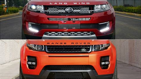 land wind interior chinese car company clones range rover evoque autoevolution