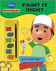 Handy Manny Paint disney paint shop handy manny na 9781407588902
