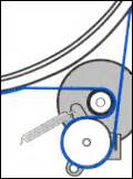 belt diagram for maytag dryer dryer belt diagrams repairclinic