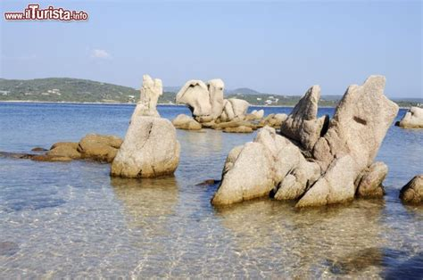 meteo in corsica porto vecchio i graniti scolpiti dal mare e dal vento lungo foto