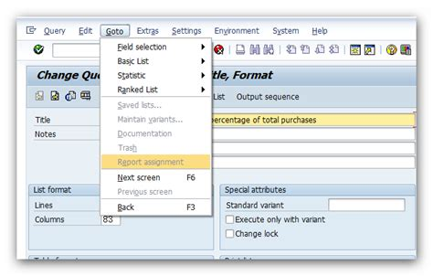 sap sq01 tutorial how to make report assignment available in tcode sq01