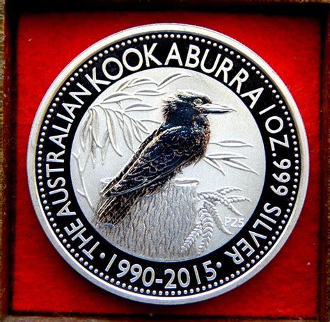 1 oz silver one dollar 2015 australia 1 dollar 2015 kookaburra 1 oz silver