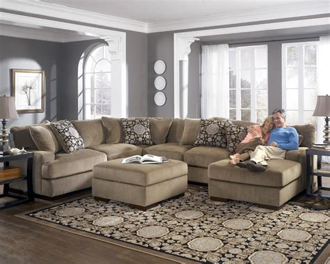 ashley sofas and sectionals ashley sofas and sectionals jessa place chocolate