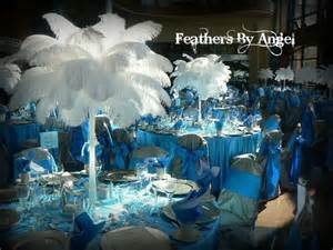 ostrich feathers centerpieces for rent renting ostrich feather centerpieces feathers by s