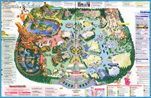 map disneyland florida disney park map travel map vacations