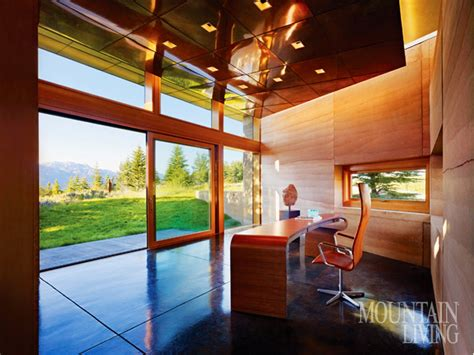 outdoor oriented dream home office influenced by african dream space a peaceful home office mountain living