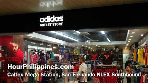adidas outlet store caltex mega station san fernando nlex southbound  hourphilippinescom