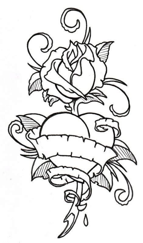 imagenes de rosas de amor para dibujar a lapiz dibujos de rosas para colorear tatuaje imagenes de amor