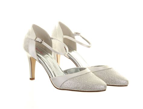 rainbow hochzeitsschuhe ivory wedding shoes thea rainbow club dyeable bridal shoes