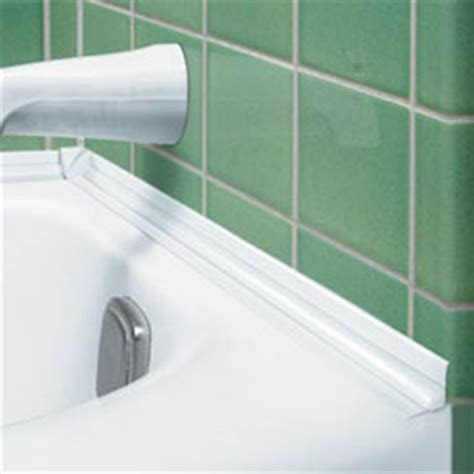 bathtub caulking strips tub surround strip betterimprovement com