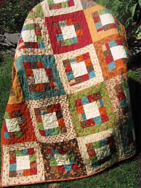 quilt pattern square in a square market square quilt pattern easy one jelly roll by