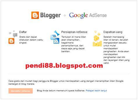 tutorial google adsense indonesia cara mendaftar google adsense terbaru update tutorial