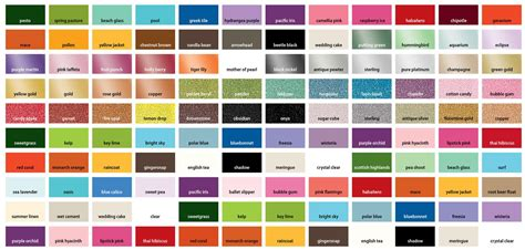ms international tile martha stewart craft paint color chart color chart martha stewart glitter