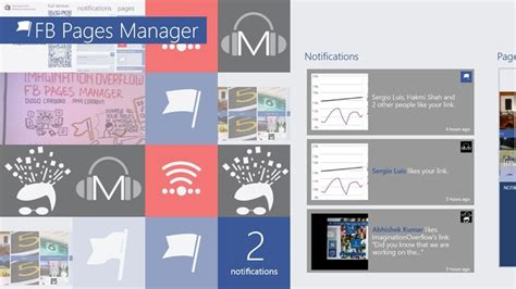 fb windows fb pages manager now available for windows 8 helps you
