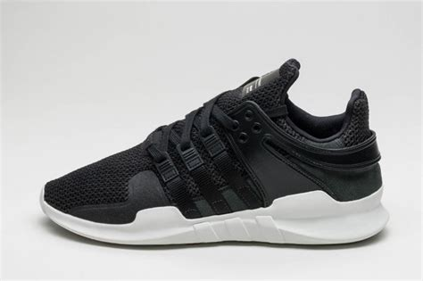 adidas eqt black adidas eqt support adv black white sneaker bar detroit
