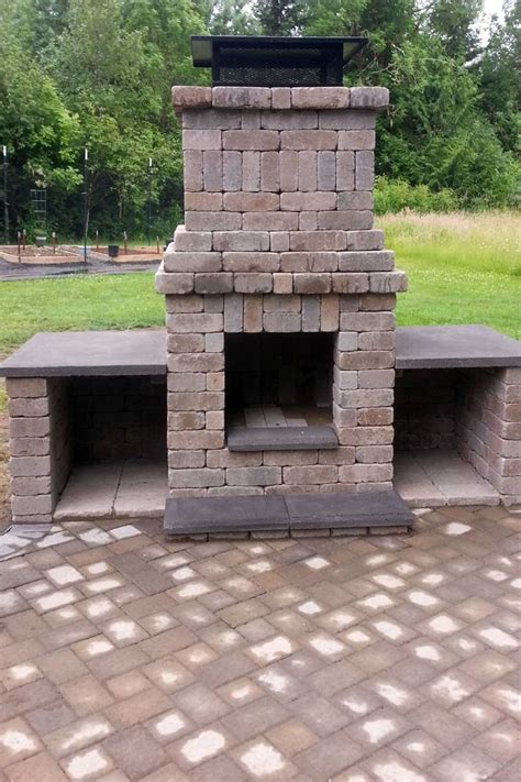 Chimney Firepit Patio Pit With Chimney Karenefoley Porch And Chimney