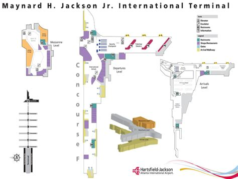atl terminal map atlanta airline terminal map pictures to pin on pinsdaddy