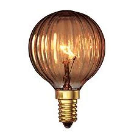Decorative Bulbs by Calex 25 Watt Goldline Decorative Golfball Light Bulb