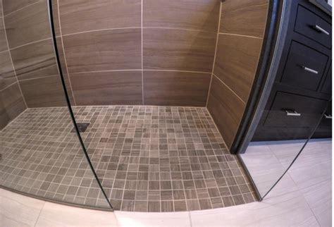 How To Build A Curbless Shower by Advantages And Disadvantages Of A Curbless Walk In Shower